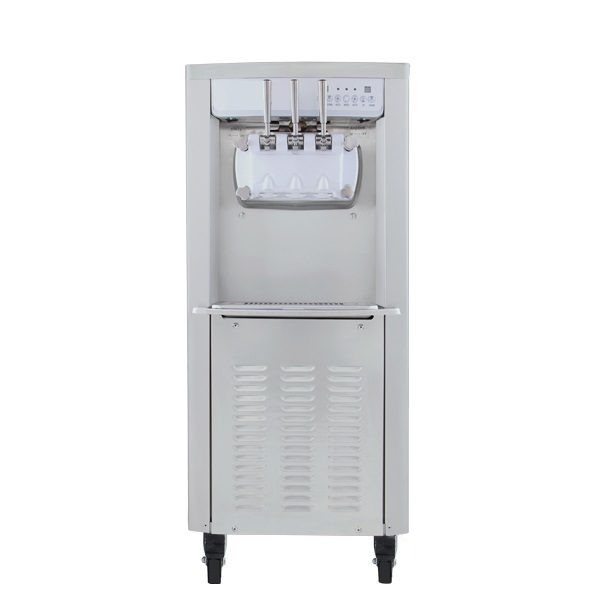 Floor Type Soft Serve Frozen Yoghurt Machine Gravity Front
